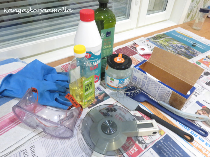 saippuan valmistus raaka-aineet