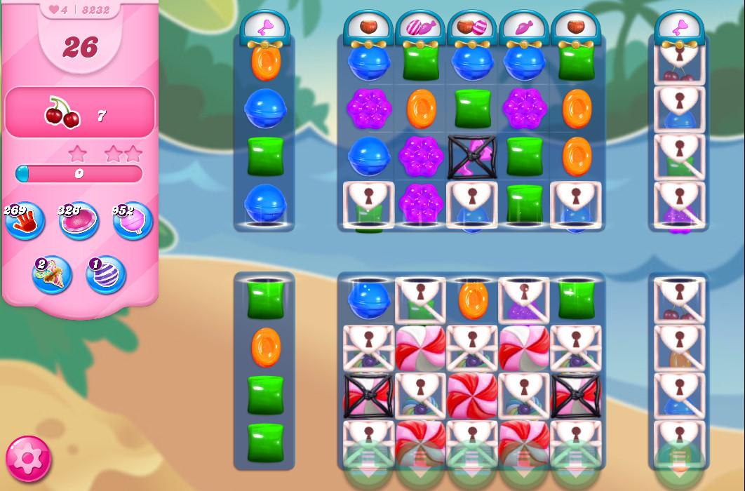 Candy Crush Saga level 8232