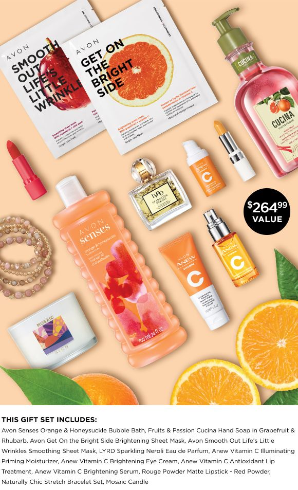 View Avon's Monthly Summer Citrus Sweepstakes - Enter To Win!