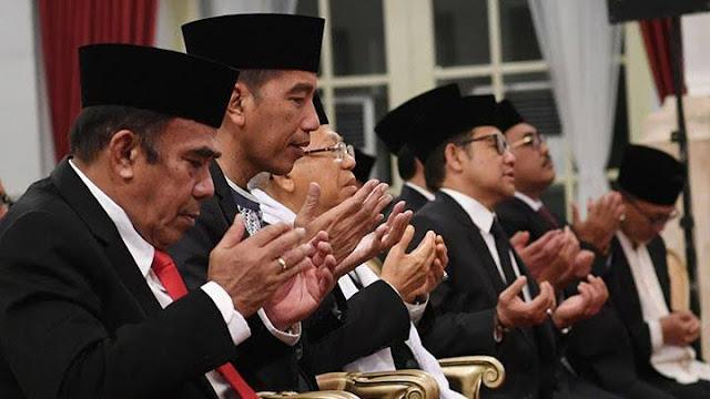 Positif Corona, Menag Terakhir Bertemu Jokowi 2 Minggu Lalu