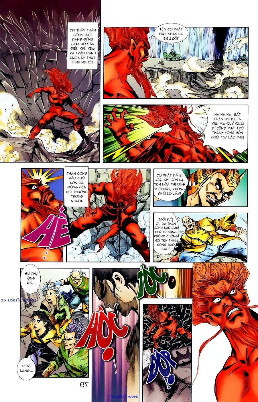 Cơ Phát Khai Chu Bản chapter 101 trang 18