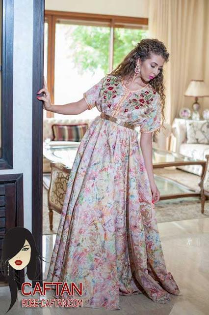 Caftan / caftan marocain haute couture et broderie