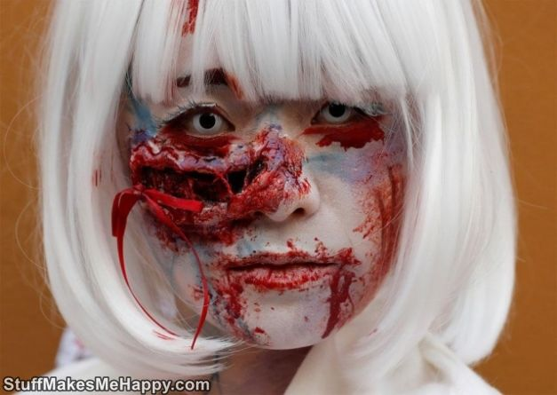 Terrifying Halloween Japanese Parade Pictures