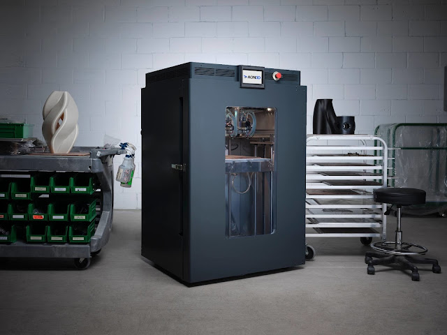 Canadian Company AON3D Launches Industrial 3D Printer Built for the Strongest Plastics in the World