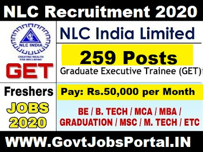 NLC Graduate Executive Trainee Recruitment 2020