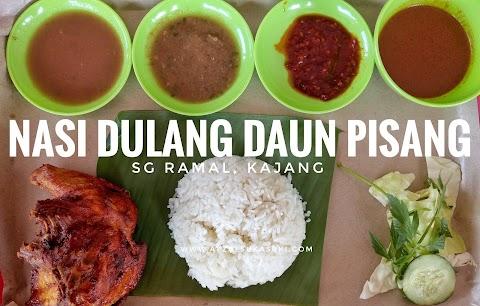 Tempat Makan Best Di Kajang : Nasi Dulang Daun Pisang