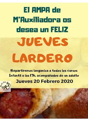 Jueves Lardero colegio Maria Auxiliadora Zaragoza