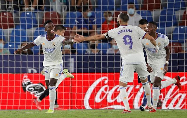 ملخص واهداف مباراة ريال مدريد وليفانتي المثيرة (3-3) الدوري الاسباني