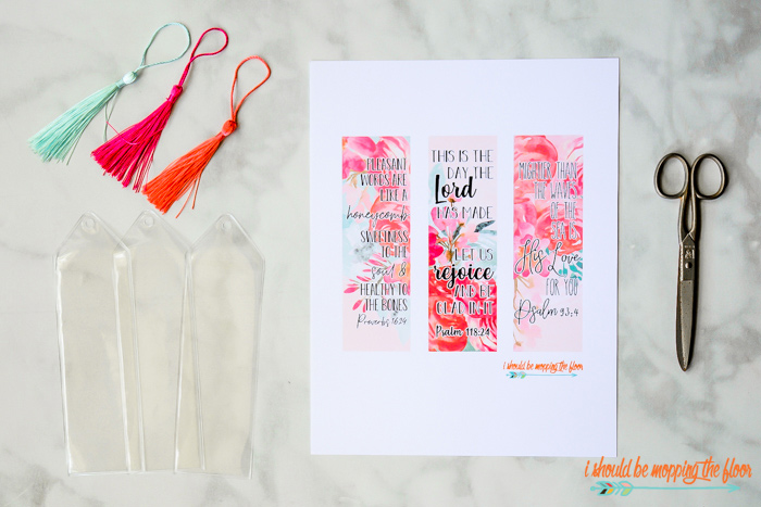 Printable Scripture Bookmarks