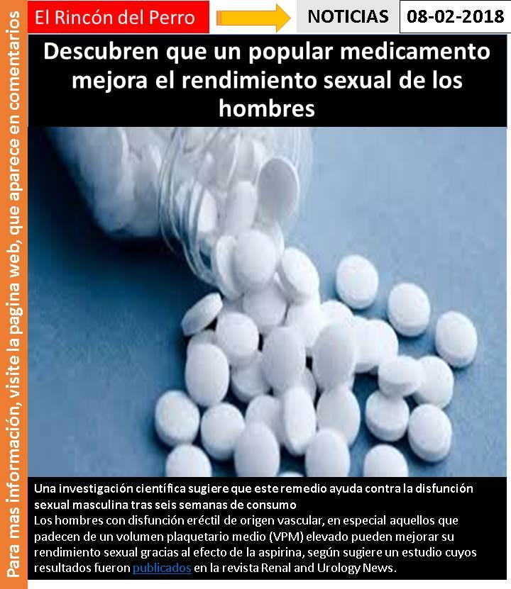 La Aspirina Puede Mejorar La Disfunción Eréctil Té De Ginseng Y Disfunción Eréctil