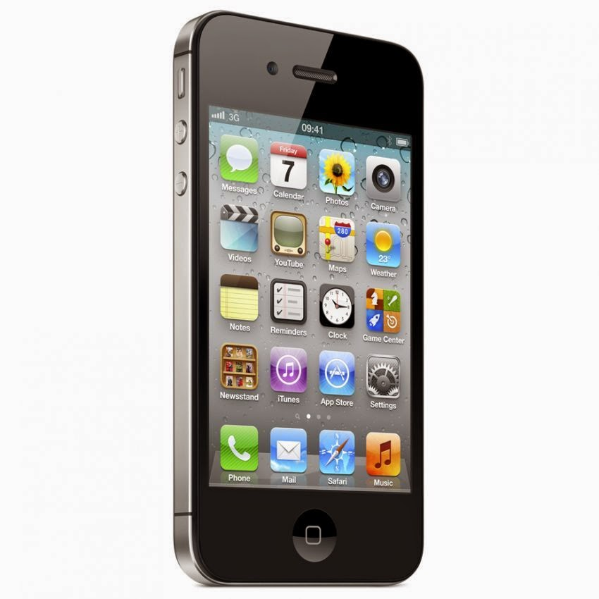 iPhone 4 Black - beritagadgets.com