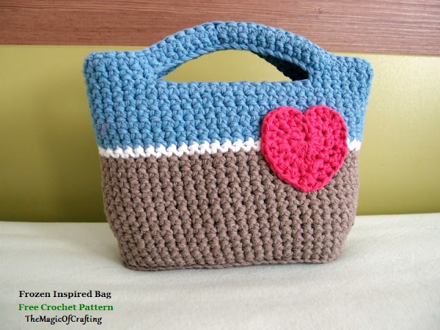 Free Crochet Patterns And Diy Crochet Charts Frozen Inspired Bag