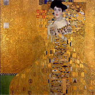 A dama dourada história