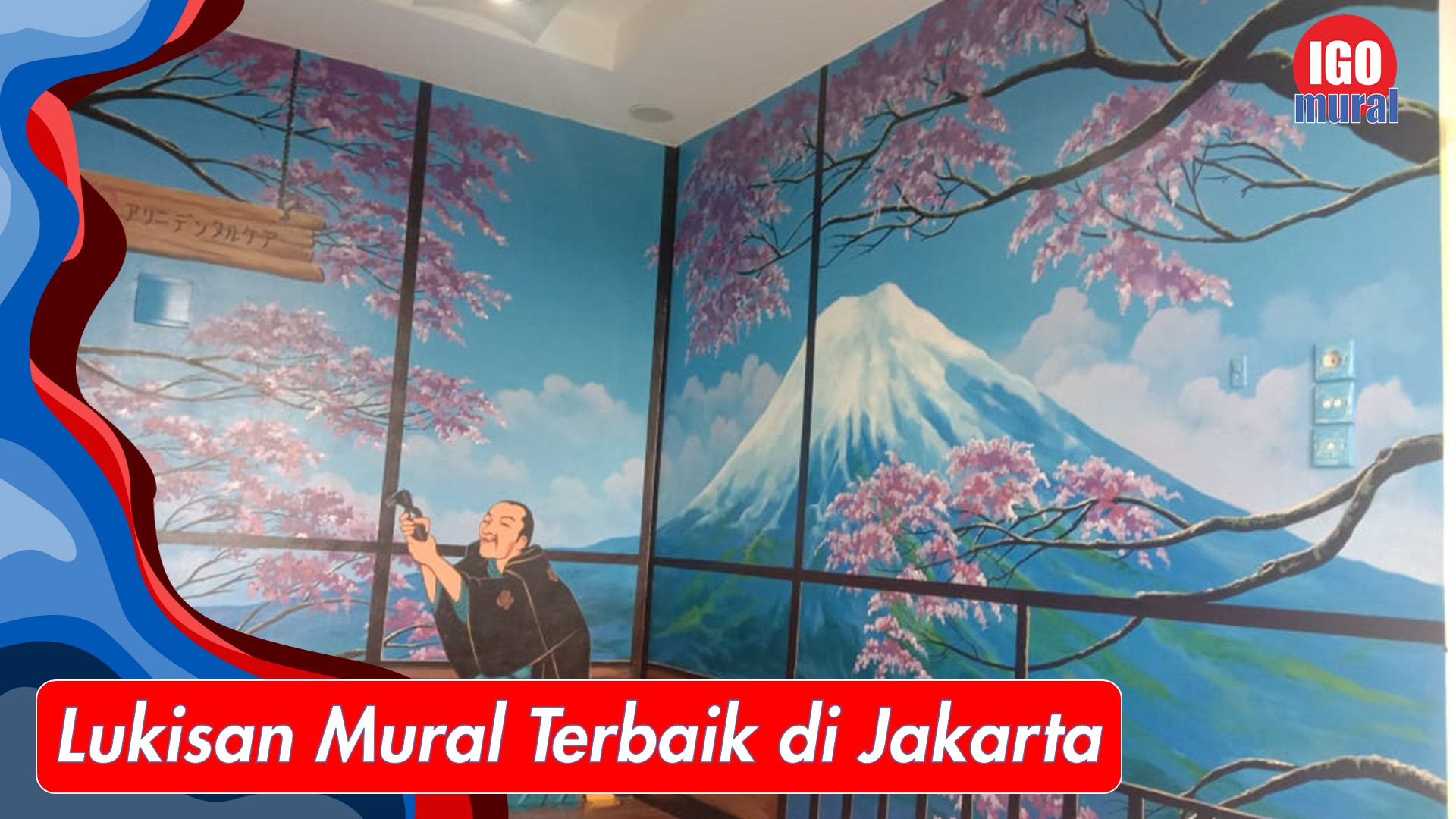 Lukisan Cafe Murah Keren di Jakarta