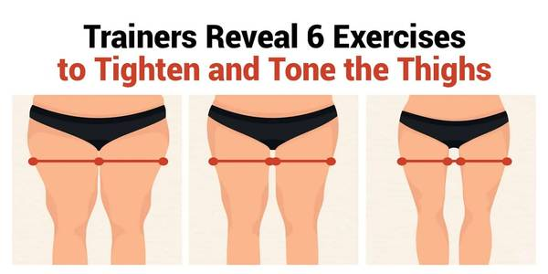 Exercises That Tighten and Tone the Thighs