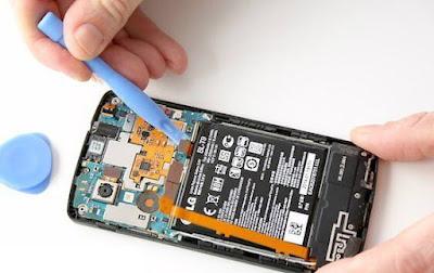 Cara Memperbaiki Hp android Baterai Tanam Terkena Air