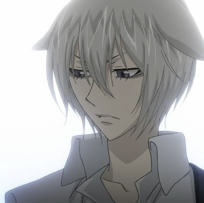 Anime Male Characters with White Hair
