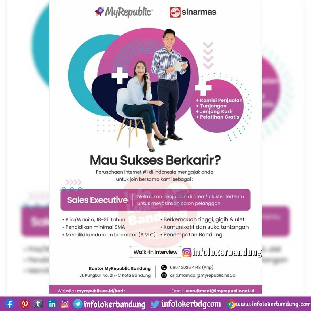 Lowongan Kerja PT Eka Mas Republik (MYREPUBLIC) Cabang Bandung  Oktober 2020