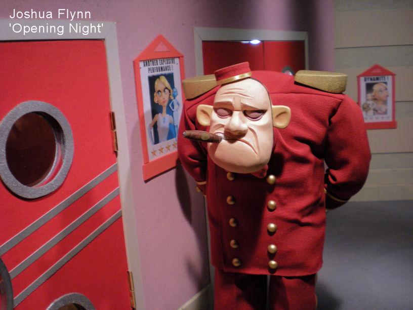 Joshua Flynn Theatre Usher Puppet