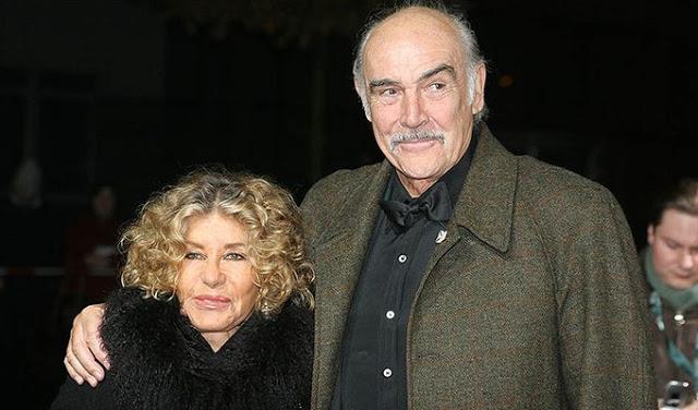 40 лет вместе. 89-летний Шон Коннери уединился со своей женой на Багамах