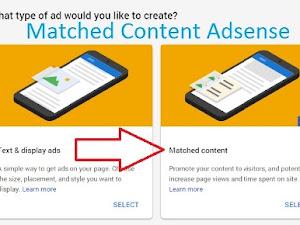 Manfaat Fitur Matched Content Adsense dan Cara Mendapatkannya