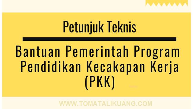 juknis bantuan pemerintah program kecakapan kerja pkk tahun 2020 pdf tomatalikuang.com