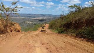 Prefeitura de Picuí revitaliza rodovia PB-151 pela terceira vez em 2017