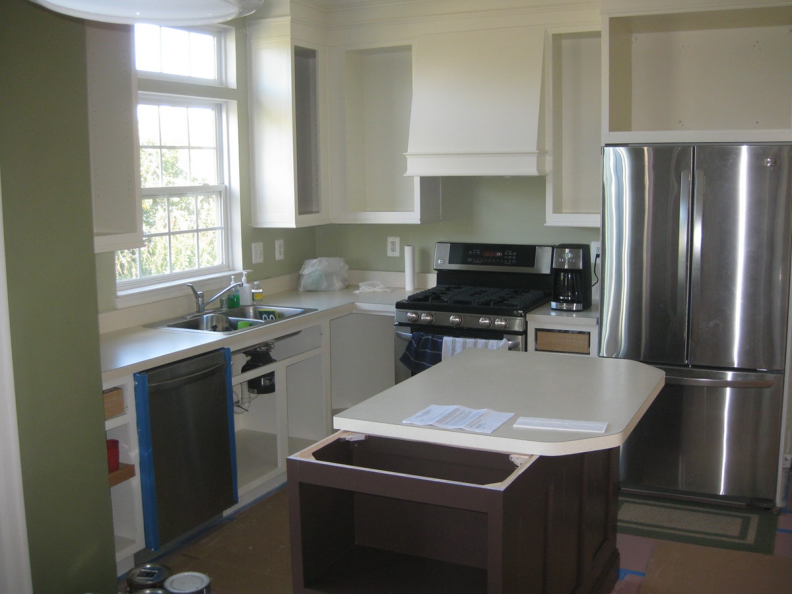 Cmo Instalar Gabinetes De Cocina Molduras De Corona » Home Design  #35475D 1600x1200