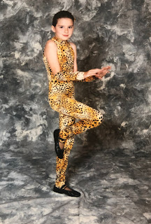 Recital Picture as a Leopard When I Was 9 Years Old