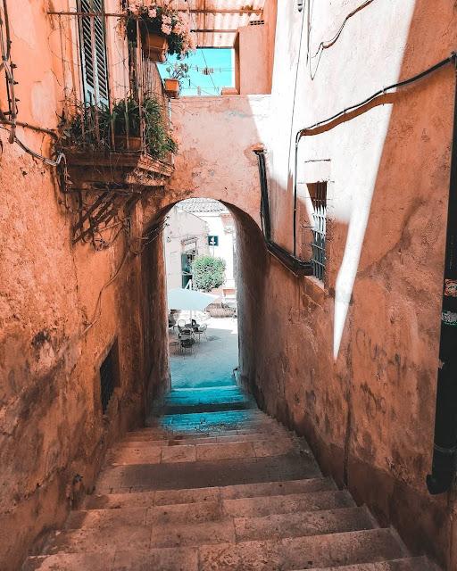 Modica foto stradine siciliane