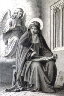 Représentation de sainte Brigitte de Suède