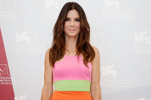 Sandra Bullock - the highest paid actress