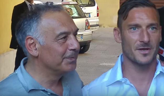 Pallotta saluta Totti con una lettera. Il boia omaggia il condannato?