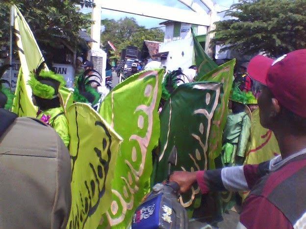 Kupu-kupu SDN Tingkis Karnaval Tuban SIngahan