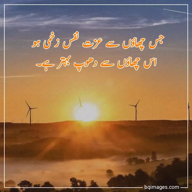 urdu mein shayari dp