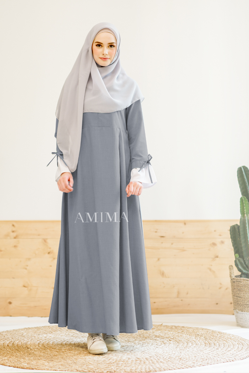 Trend baju lebaran Gamis Salwa Dress