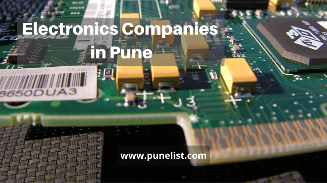 Electronics Companies in Pune