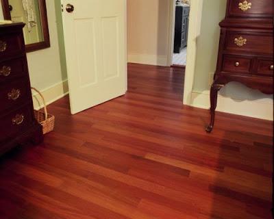 Sàn gỗ giáng hương giúp bạn thư giãn ngày hè
