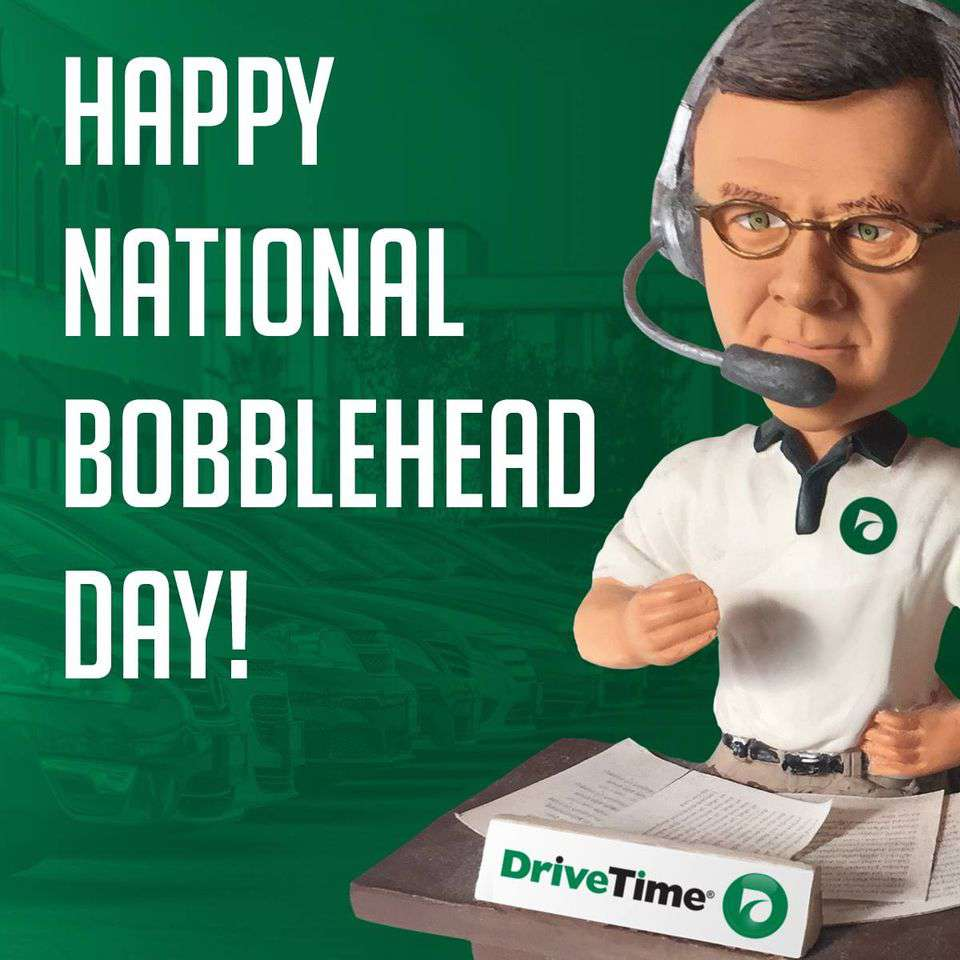 National Bobblehead Day Wishes Photos
