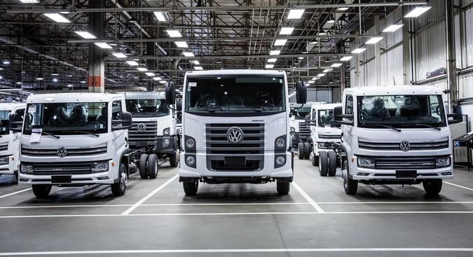 Recorde: Volkswagen vende 100 caminhões para o Uruguai em um único mês