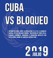 Cuba's Blockade Report July 2019