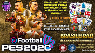 eFootball PES 2020 PS4 Compilation Option File V3 by Emerson