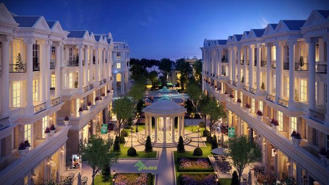 Quảng trường dự án Louis City