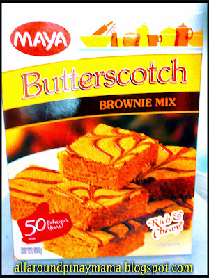 Easy Butterscotch Using Maya Butterscotch Brownie Mix
