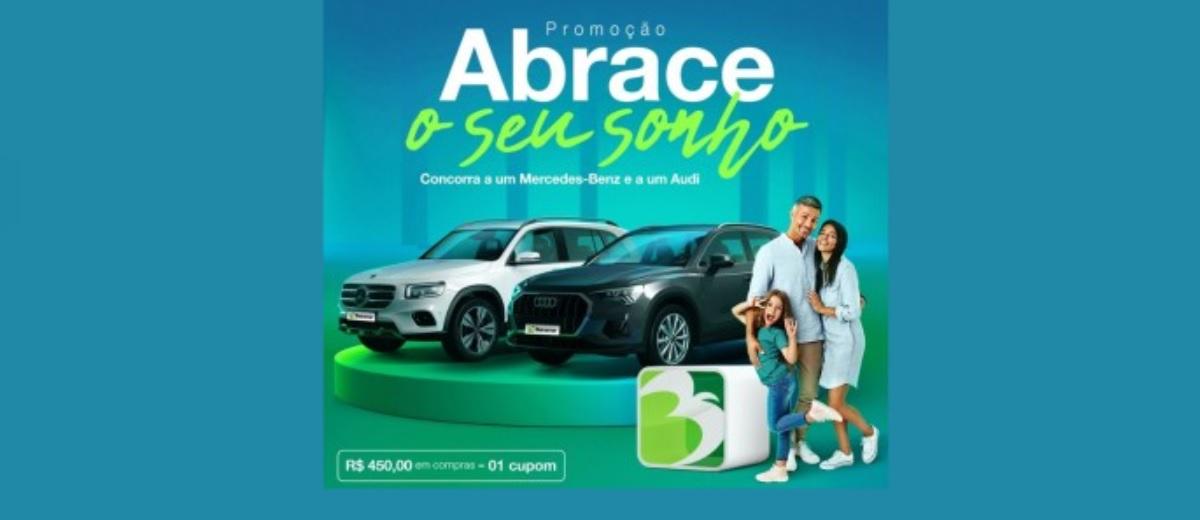 Abrace o Seu Sonho Beiramar Shopping Promoção 2 Carros de Luxo - Natal e Final de Ano