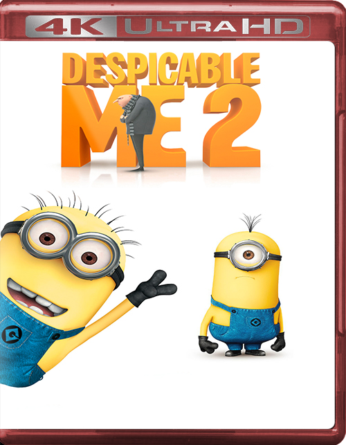 Despicable Me 2 [2013] [UHD] [2160p] [Latino]