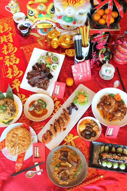 SUNWAY RESORT CAFE CHINESE NEW YEAR 2021