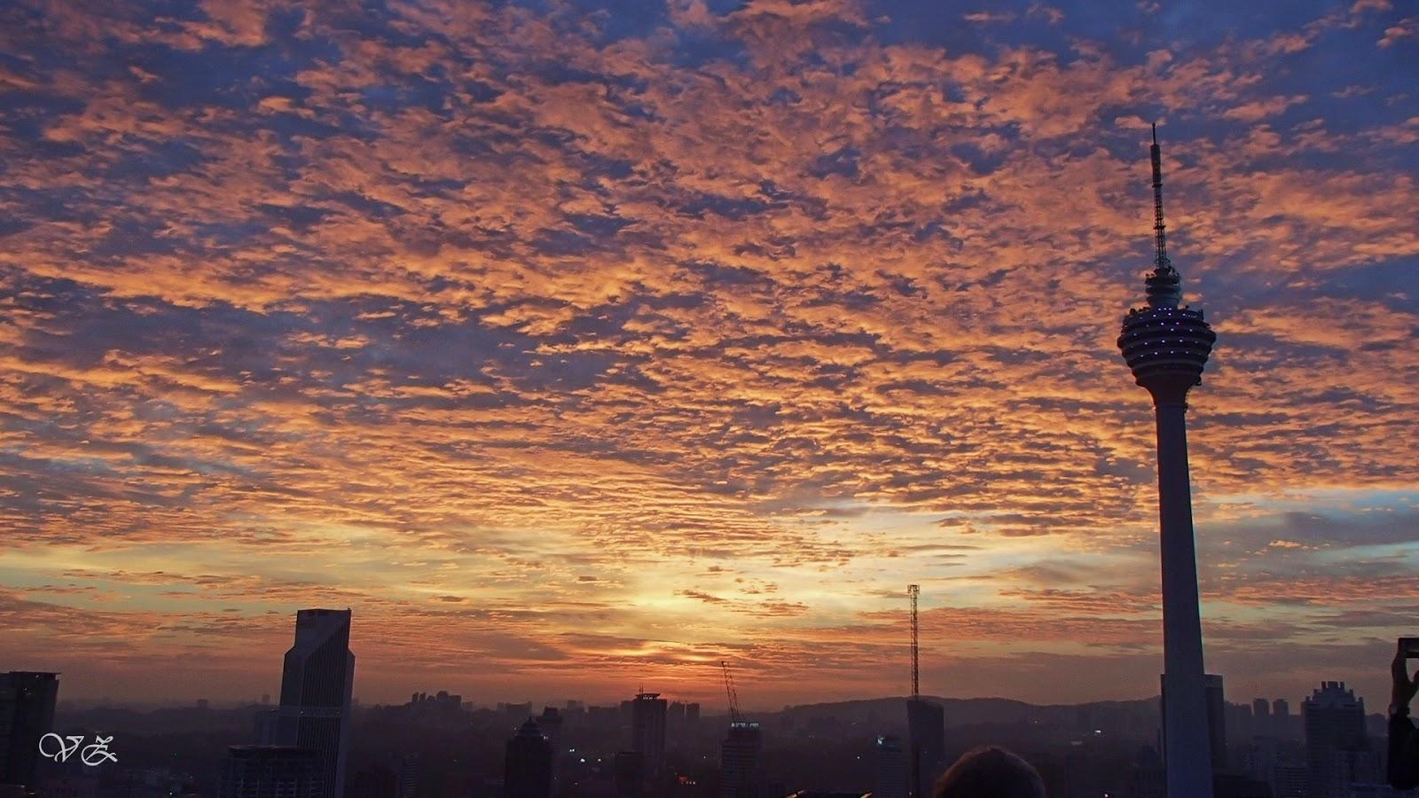 amazing sunset heli lounge