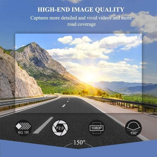 Review Rockspace Full HD Dash Camera for Cars
