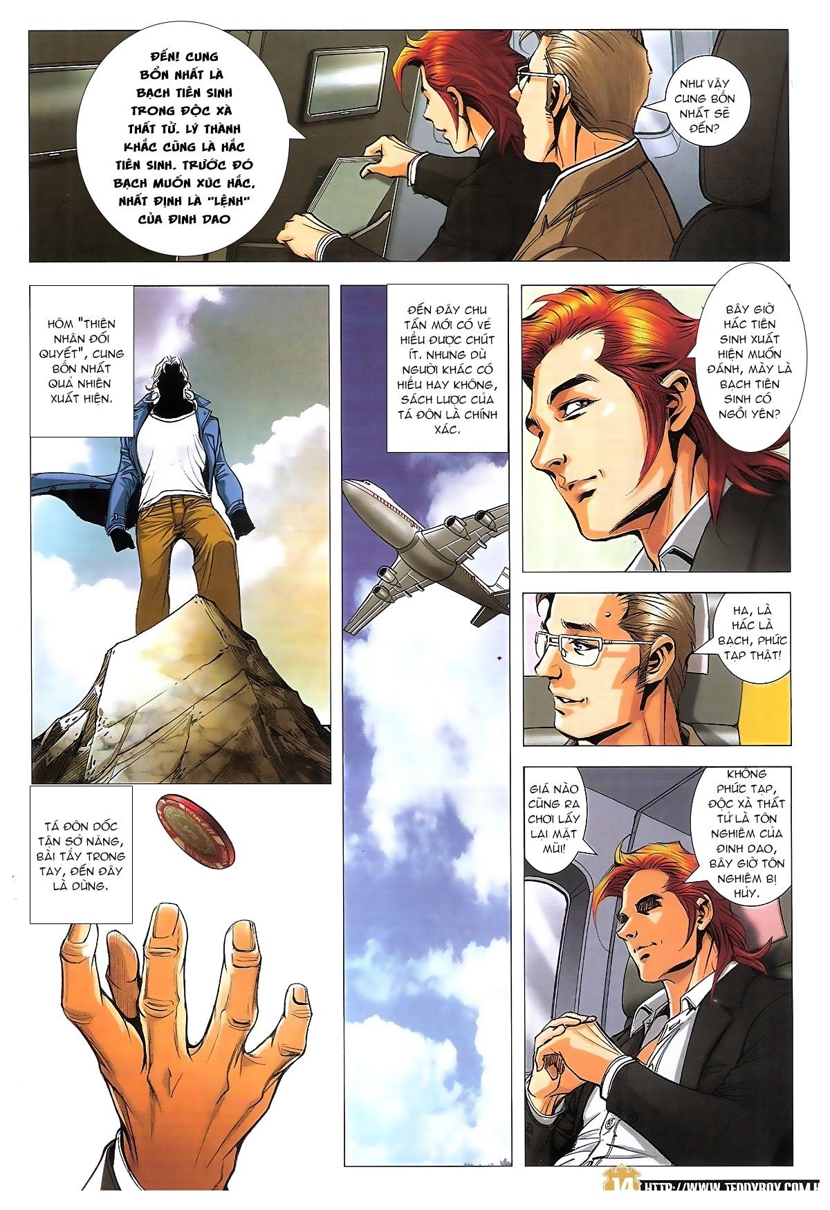 Người Trong Giang Hồ chapter 1822: tẩy của tiểu đông trang 13